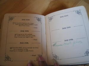 birthdaybook